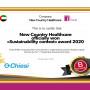 Sustainability Contest Award